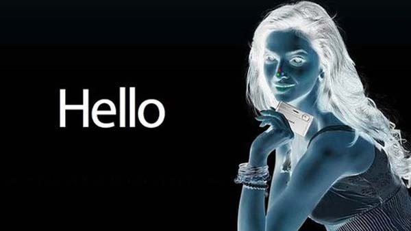 13.) Stare at the colored dots on the girl's nose for 30 seconds. Then look at a white surface and start blinking.