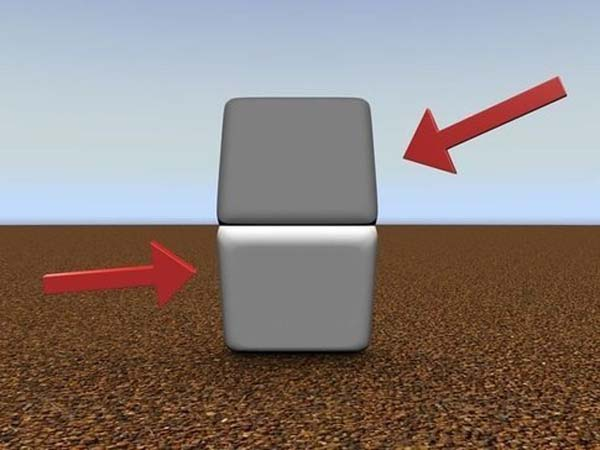 14.) These 2 blocks are the same color. ... ... Cover the line with your finger to check.
