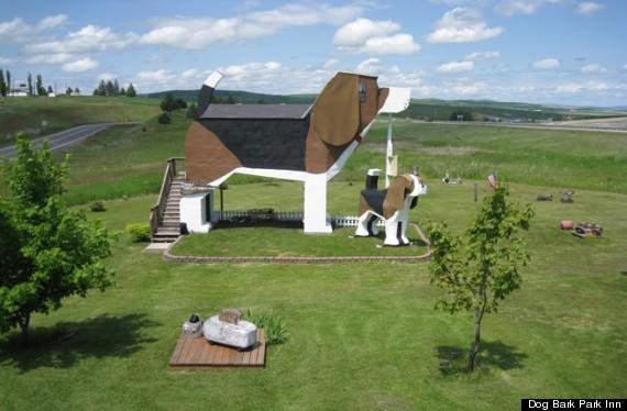 5.) Dog Bark Park Inn - Idaho