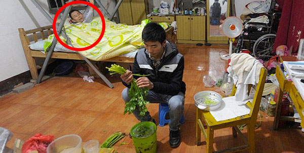 What A Poor College Student Did In His Dorm Room Is Unbelievable. Everyone Should See This.